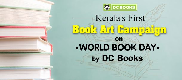Kerala's First Book Art Campaign on World Book Day by DC Books