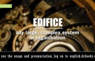 Word of the Day: edifice
