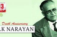 Death Anniversary of R.K Narayan