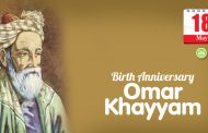 Birth Anniversary of Omar Khayyám