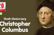 Death Anniversary of Christopher Columbus