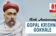 Birth Anniversary of Gopal Krishna Gokhale