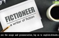 Word of the Day: fictioneer