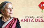 Birthday Wishes to Anita Desai