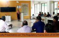 Faculty presentation on the Regulatory Framework of DCSMAT