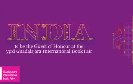 India to be the Guest of Honour at the 33rd Guadalajara International Book Fair