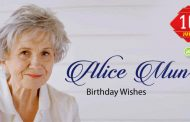 Birthday Wishes to Alice Munro
