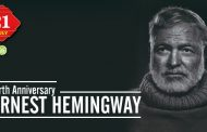 Birth Anniversary of Ernest Hemingway