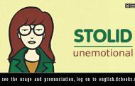 Word of the Day: stolid