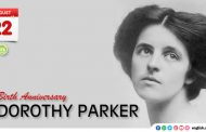Birth Anniversary of Dorothy Parker