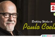 Birthday Wishes to Paulo Coelho