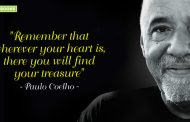"""""""Remember that wherever your heart is, there you will find your treasure."""""""