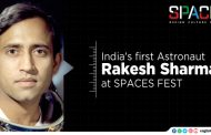 INDIA'S FIRST ASTRONAUT RAKESH SHARMA AT SPACES FEST, THIRUVANATHAPURAM