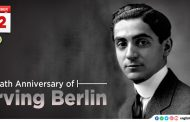 Death Anniversary of Irving Berlin