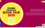 Colombo International Book Fair 2019 Begins Tommorow