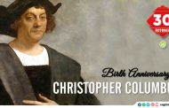 Birth Anniversary of Christopher Columbus