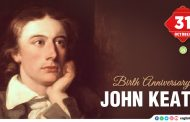 Birth Anniversary of John Keats