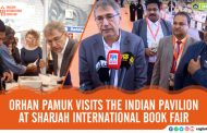 'Life of simple men, as interesting as Macbeth or Dostoyevskian heroes,' Orhan Pamuk at SIBF 2019