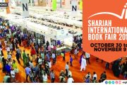 Sharjah International Book Fair to kick start from October 30
