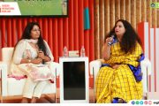 """My characters are grounded in their Indianness and this Indianness is what I try to capture in my books,"" Anita Nair at SIBF 2019"