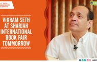 Vikram Seth at Sharjah International Book Fair Tommorrow