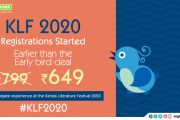 Registrations for Kerala Literature Festival 2020 Begins