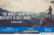 """The worst enemy of creativity is self-doubt."""