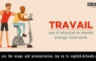 Word of the Day: travail