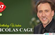 Birthday Wishes to Nicolas Cage