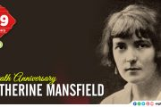 Death Anniversary of Katherine Mansfield