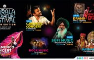 Cultural Nights at Kerala Literature Festival