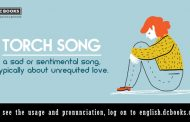 Word of the Day: torch song