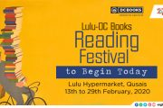 Lulu-DC Books Reading Festival to Begin Today