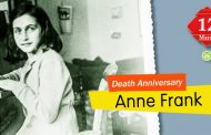 Death Anniversary of Anne Frank