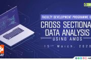 Faculty Training Programme on Cross Sectional Data Analysis Using AMOS at DCSMAT Vagamon
