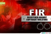 FIR Registered Against Copyright Violators