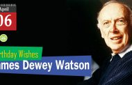 Birthday Wishes James Dewey Watson