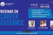Webinar on Career Guidance is Tomorrow