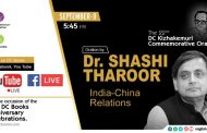 Shashi Tharoor to Inaugurate the 46th DC Books Anniversary Celebrations