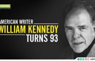 American Writer William Kennedy turns 93